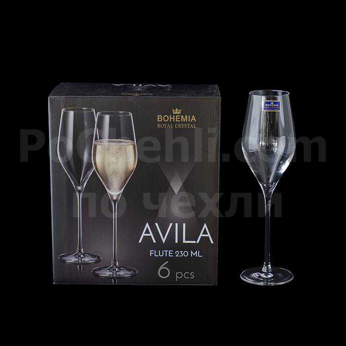 Чаши за Просеко Avila Bohemia Royal