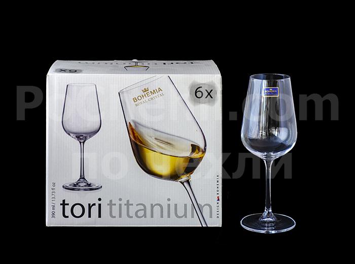 Чаши за бяло вино Tori Titanium