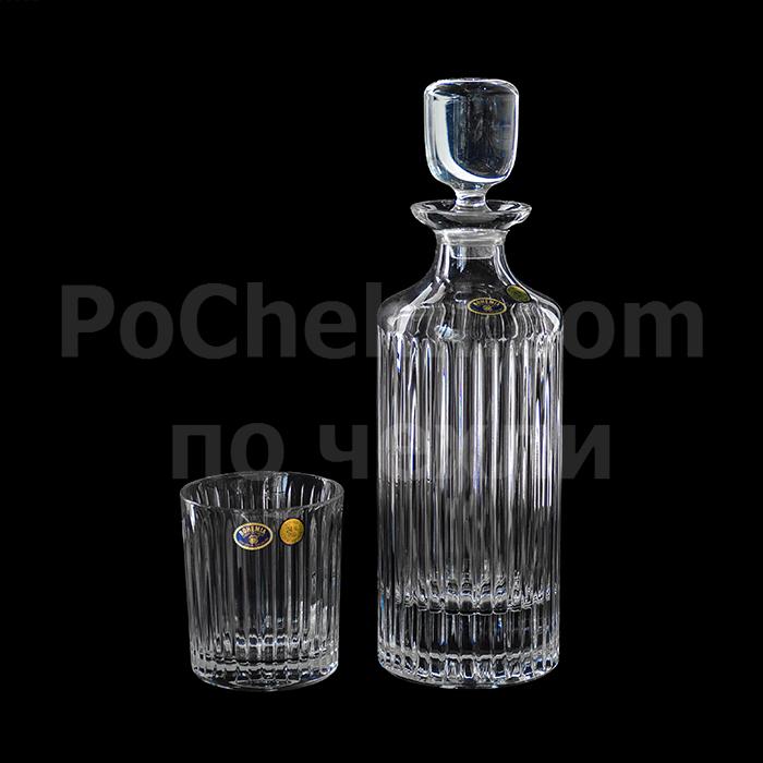 Кристални чаши за уиски SKYLINE BOHEMIA
