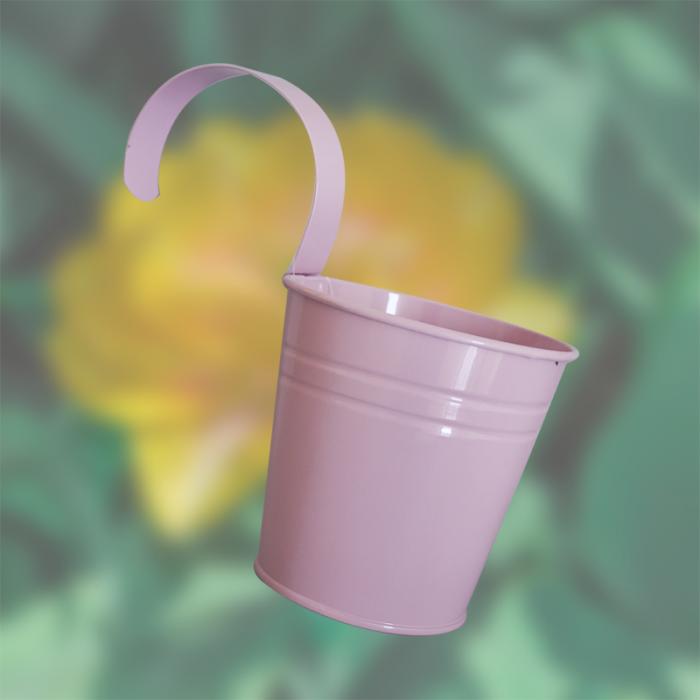 розова кофичка с дръжка FERONYA