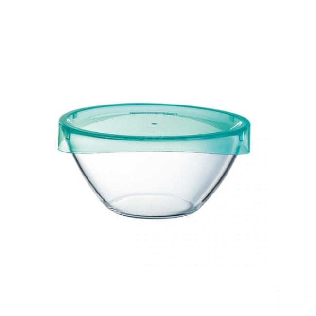 Стъклена купа с капак Keep&Bowl Luminarc, 17 см