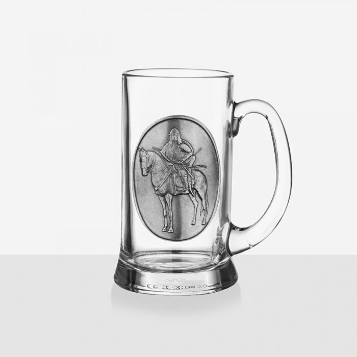 чаша за бира конник 500 мл