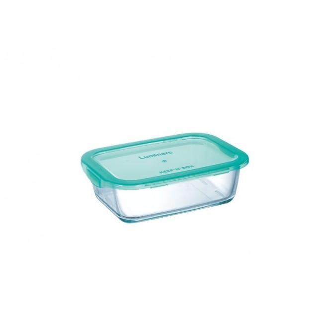 стъклена кутия за съхранение Luminarc keep&box