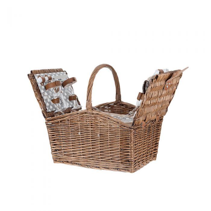 кошница за пикник за двама нова