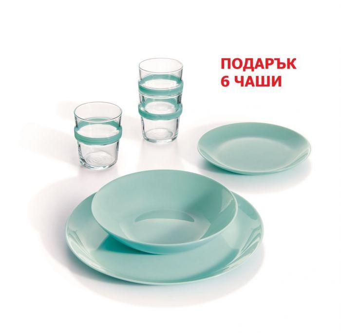 сервиз за хранене diwali + подарък чаши