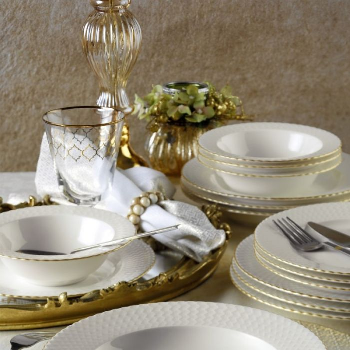 сервиз за хранене BONE IREM Gold 24