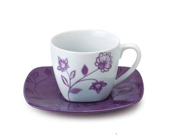Порцеланов сервиз за чай, 12 части