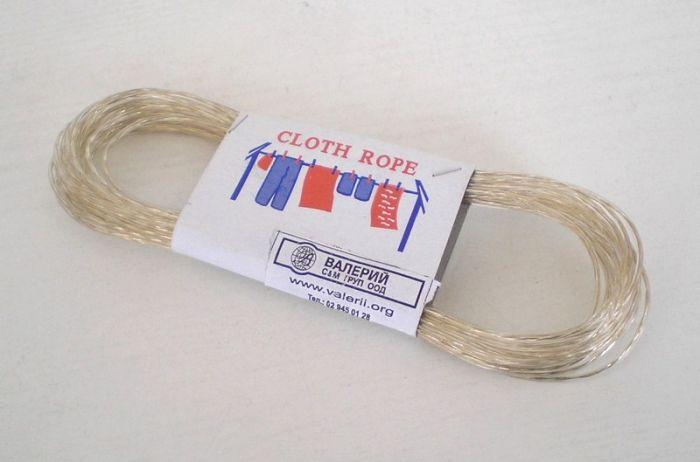 Въже за простор с метална нишка 10 м
