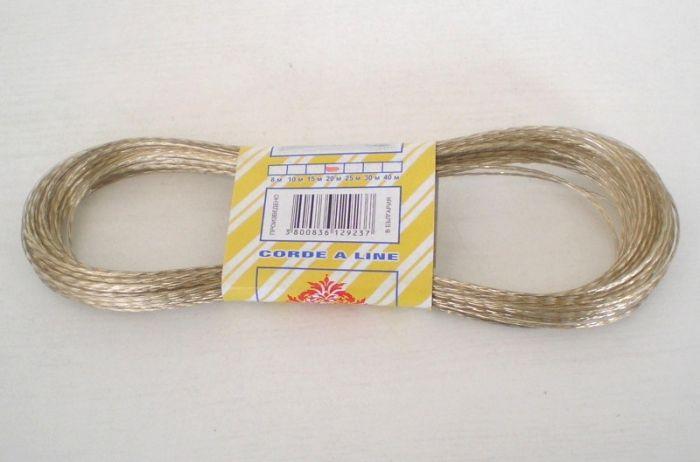 Въже за простор с метална нишка 20 м