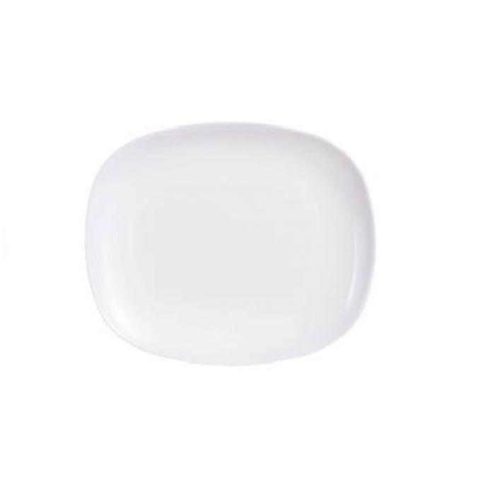 Комплект от 6 чинии за основно Luminarc Sweet Line, бяло