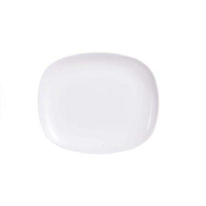 Комплект от 6 чинии за десерт Luminarc Sweet Line, черно или бяло