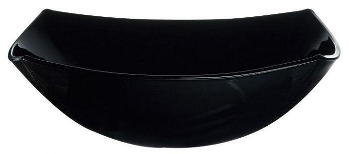 Купа за салата Luminarc Quadrato, 24 см, черно или бяло