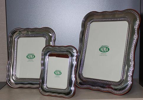 Посребрена рамка за снимки, ретро, 3 размера