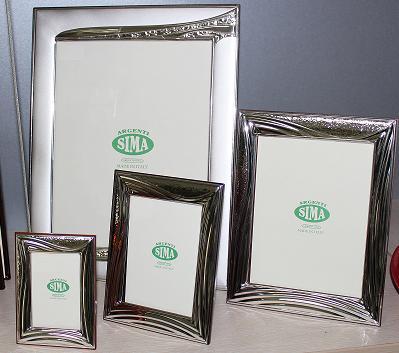 Посребрена рамка за снимки
