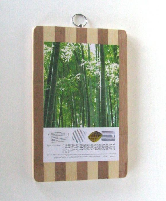 Дъска за рязане бамбук 18 * 28 см