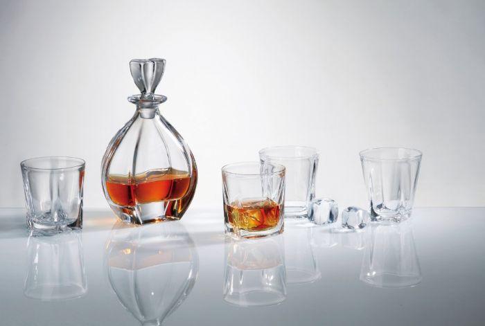 Комплект за уиски Лагуна, Crystalite Bohemia