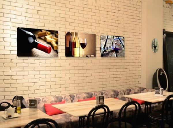 Пано за стена Вино