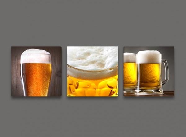 Картина с бира