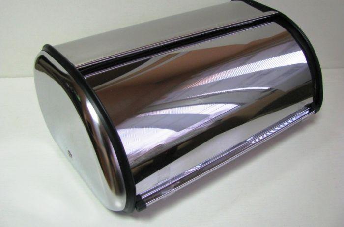Кутия за хляб инокс голяма