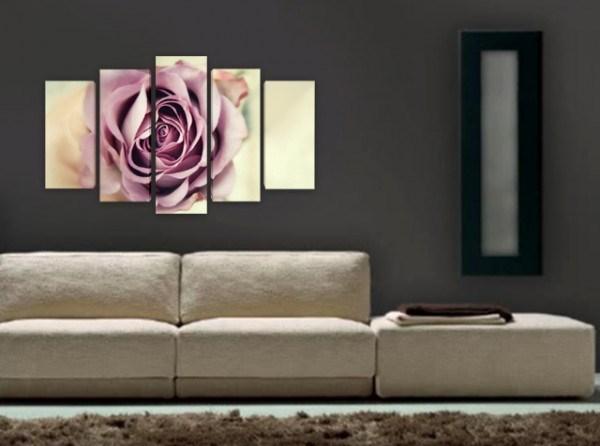 Картина пано разцъфнала роза