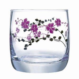 Чаши за аперитив Luminarc Kashima Purple, 3 бр. * 310 мл