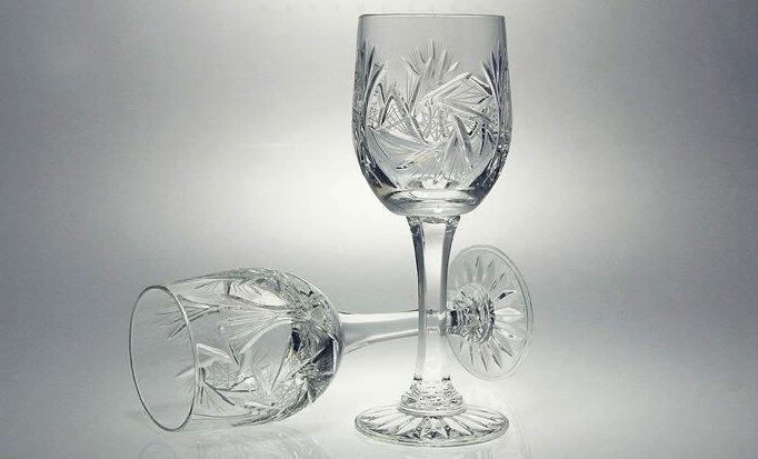 Кристални чаши за бяло вино Моника