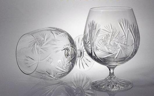Кристални чаши за коняк и бренди Моника