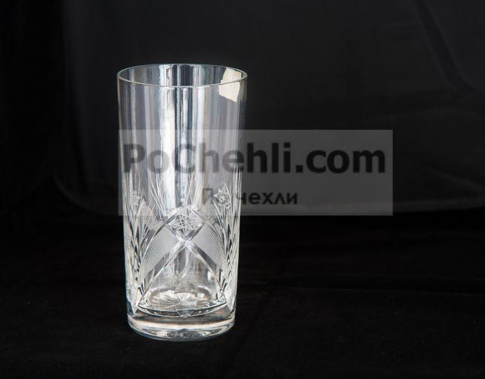Кристални чаши за воза Зорница