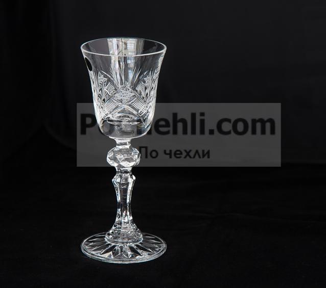 Чаши за ракия Зорница, столче, кристални