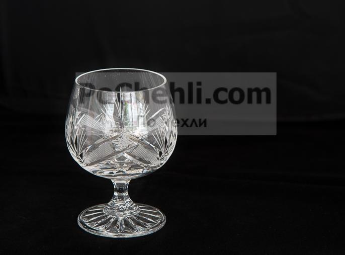 Кристални чаши за коняк Зорница
