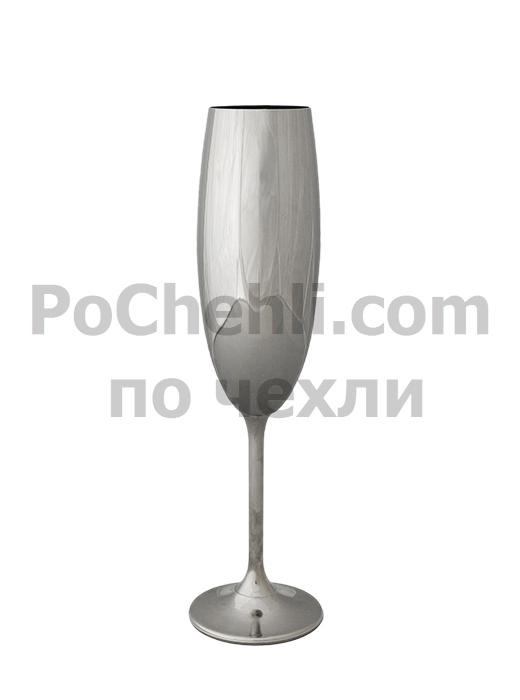 Метализирана чаша за шампанско