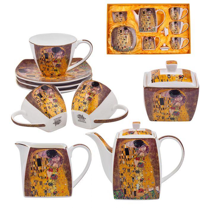 Сервиз за чай и кафе Целувката, 9 части, Lancaster