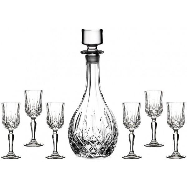 Гарафа + чаши за ракия Опера