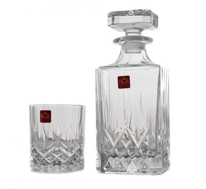 Гарафа и чаши за уиски Опера