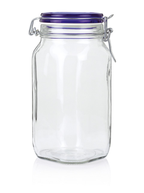 Стъклен буркан Фидо 1,5 л