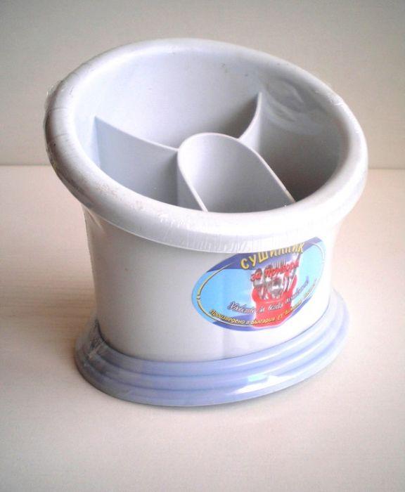 Пластмасов сушилник за прибори елипса