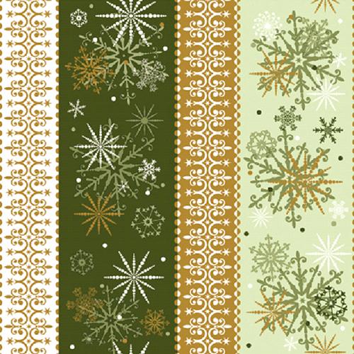 Коледни салфетки Снежинки