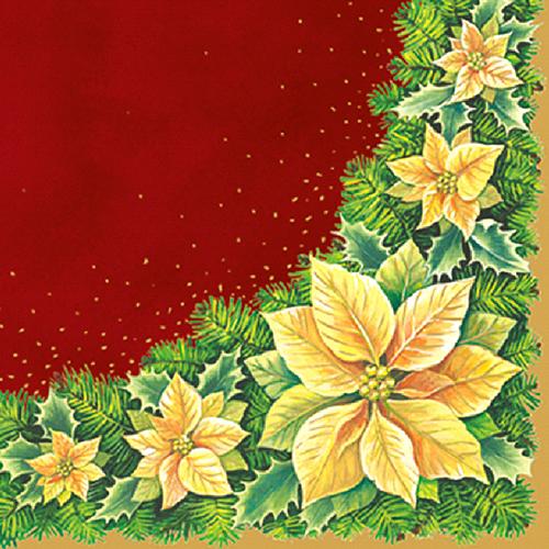 Коледни салфетки Коледна звезда
