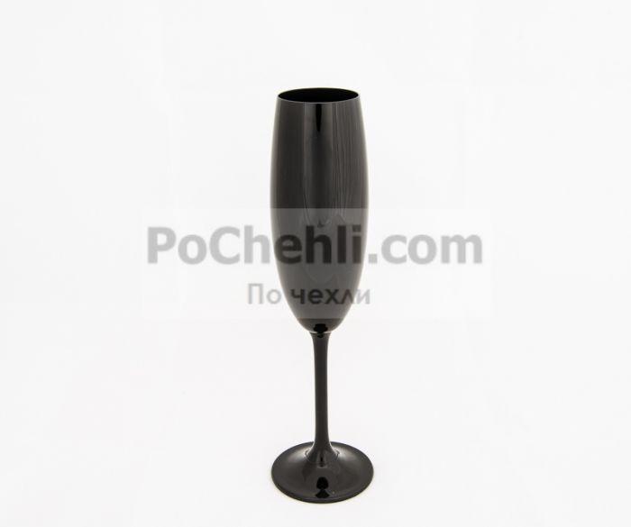 Bohemia Gastro чаши за шампанско черни
