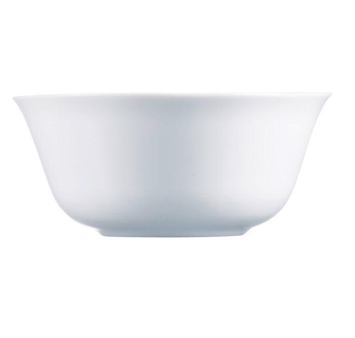 Комплект купички Luminarc Everyday, бели, 6 бр., 12 см