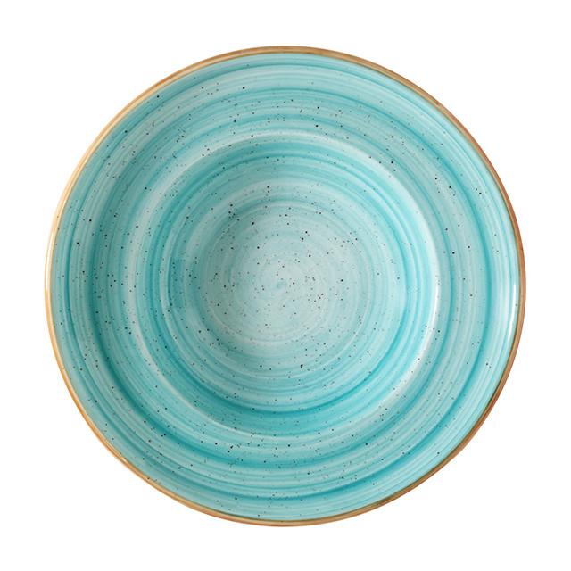Порцеланова дълбока чиния Гурме Aqua 30 см, 550 мл, Bonna Турция