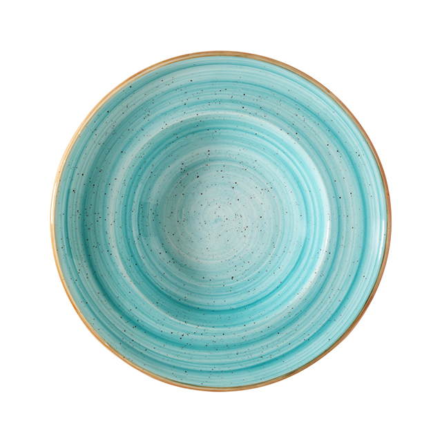 Порцеланова дълбока чиния Гурме Aqua 27 см, 400 мл, Bonna Турция