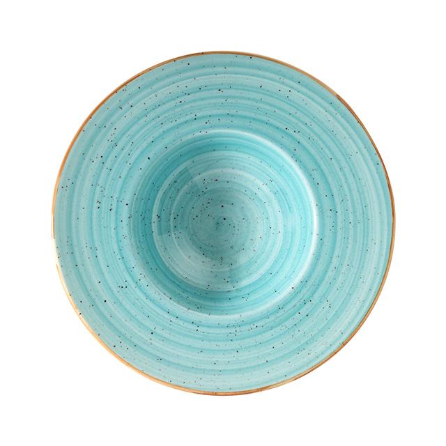 Порцеланова чиния за паста Aqua 28 см, 400 мл, Bonna Турция