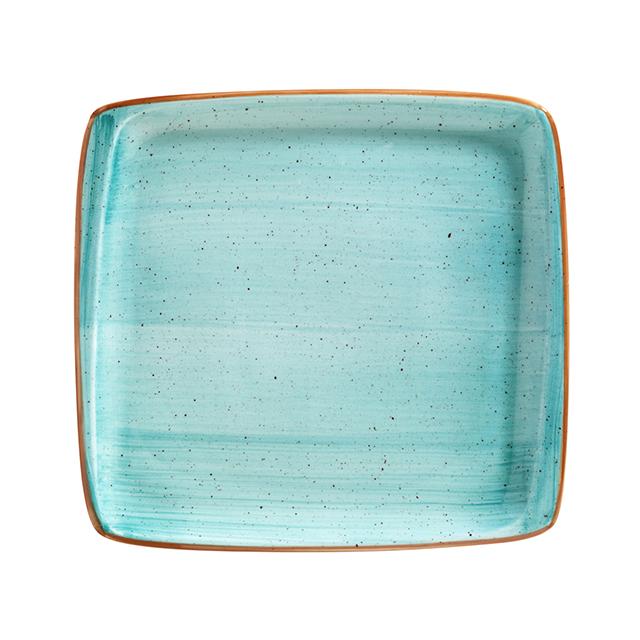 Порцеланова чиния правоъгълна Aqua 15x14 см, Bonna Турция