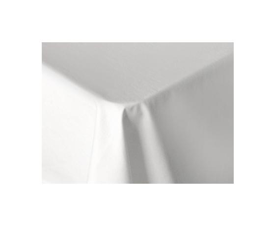 Покривка за маса в бяло, памук
