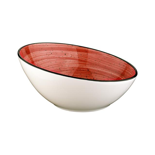 Порцеланова купа скосена Passion 18 см, 400 мл, Bonna Турция