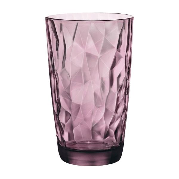 Чаши за вода Diamond Rock Purple, Bormioli Rocco