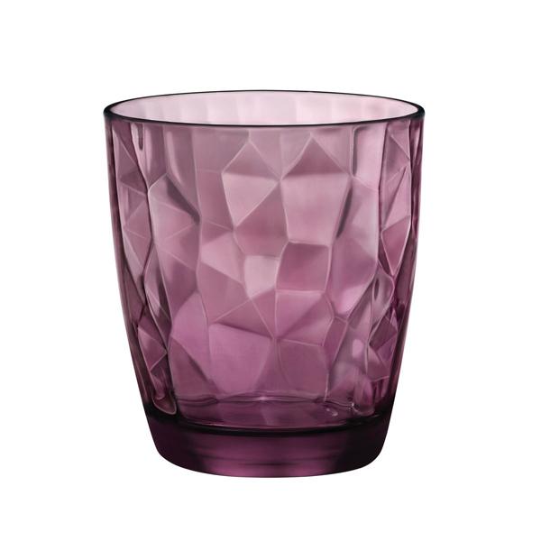 Чаши за уиски Diamond Rock Purple, Bormioli Rocco
