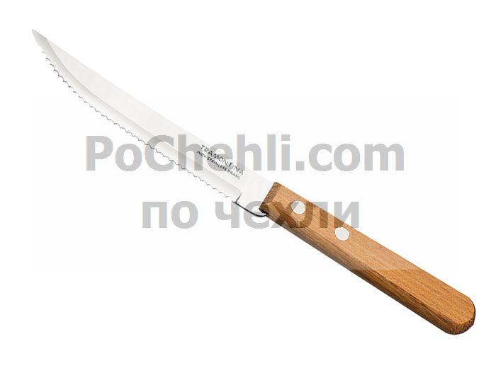 Нож за стек с дървена дръжка, 3 бр., Dynamic Tramontina
