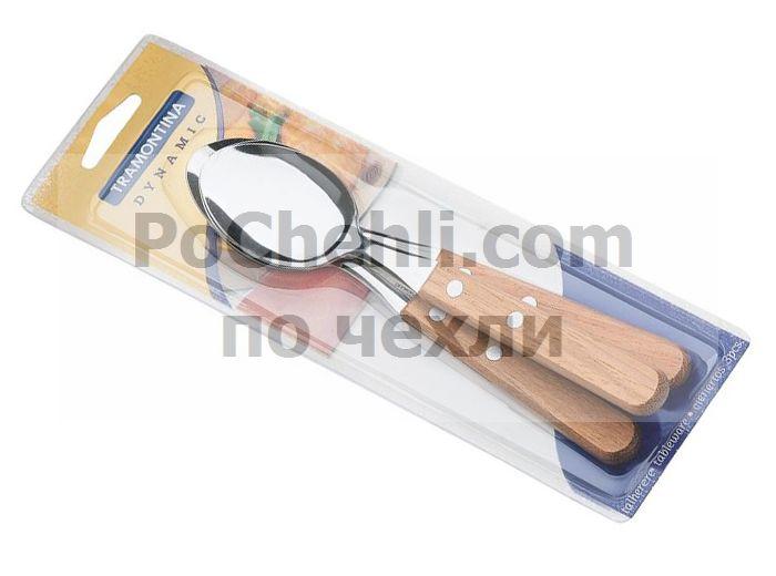 Лъжица с дървена дръжка, 3 бр., Dynamic Tramontina